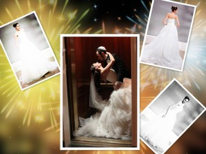 Ball Gown Princess Strapless Chapel Train Wedding Dress