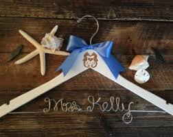 Beautiful hanger for brideal dresses idea from WeddingBuy