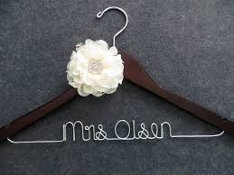 Wedding hanger ideas from WeddingBuy